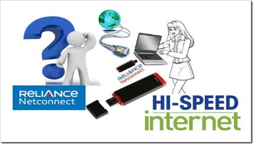 Reliance Netconnect High Speed Internet thumb Reliance 2G 3G Free Internet/Gprs Trick is Back