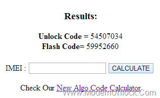 huawei sim unlock code calculator